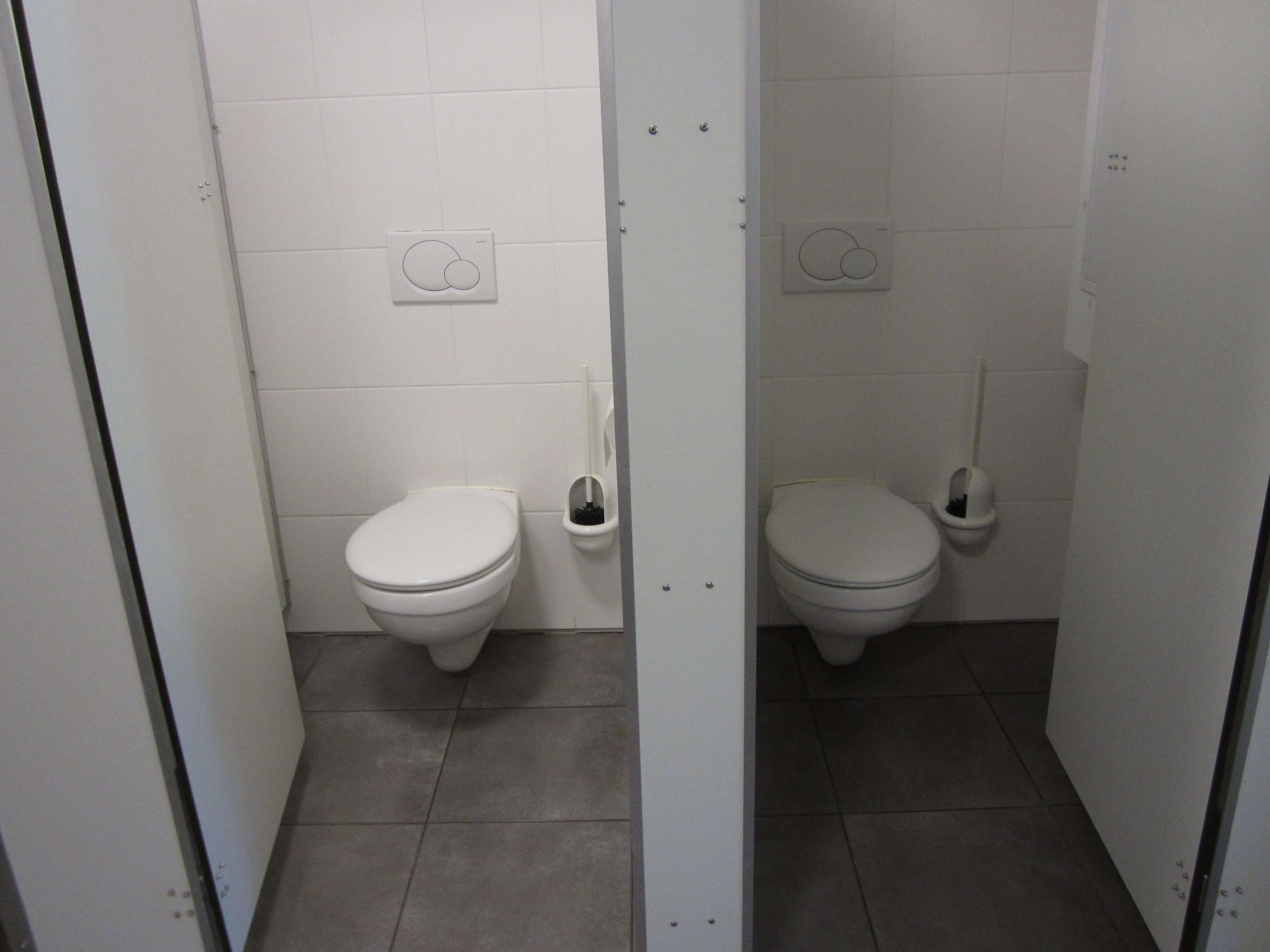 Toilette im Erdgeschoss