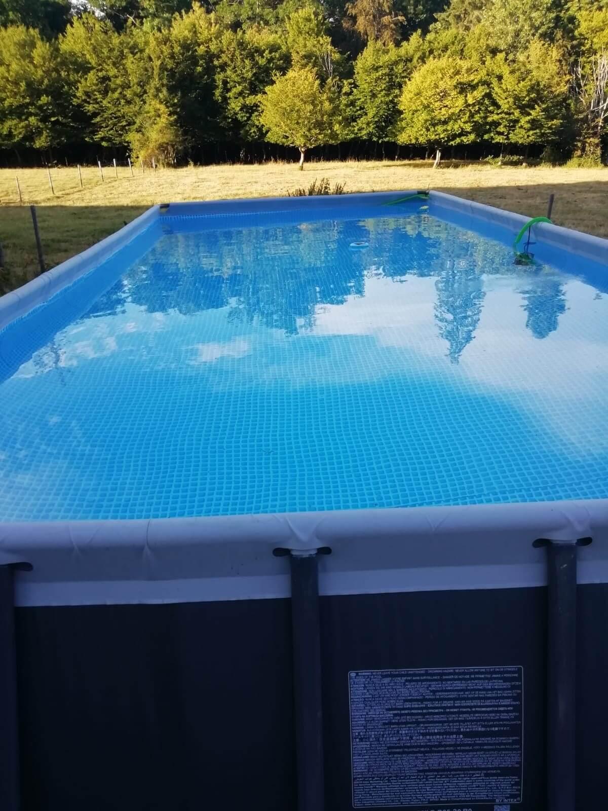 Zwembad in de zomer|Waldfriede