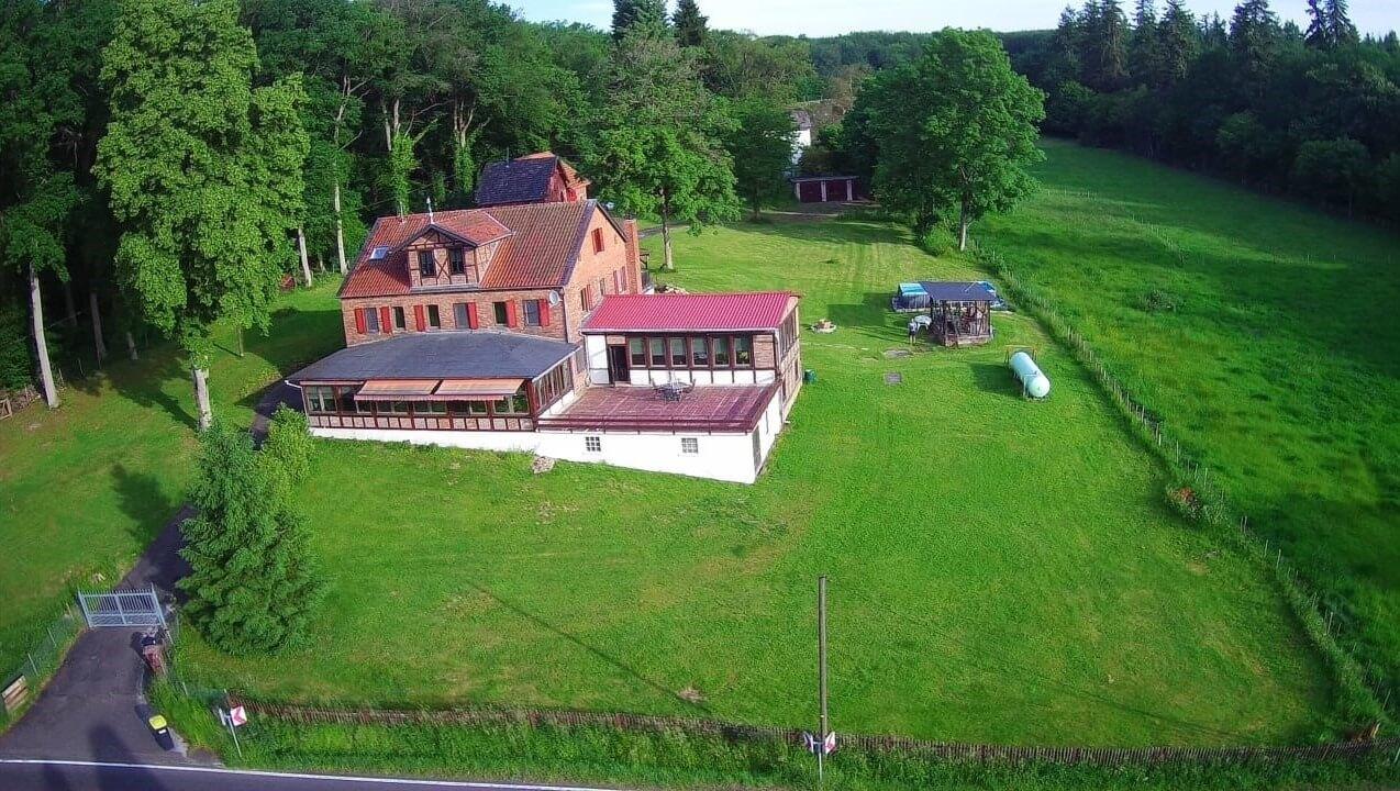 Waldfriede van boven|groot-vakantiehuis Waldfriede