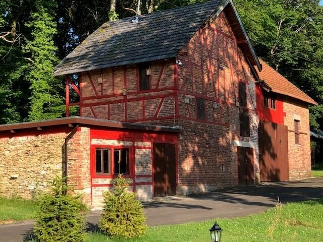 oorspronkelijke schuur | groot-vakantiehuis Waldfriede